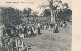 H2 - SOUDAN FRANÇAIS - Place De Marché - Sudan