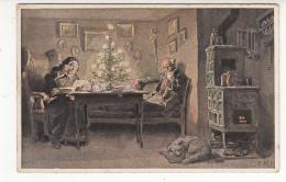 Illustrateur - Hey Paul - Vieux Couple Fetant Noel - Hey, Paul