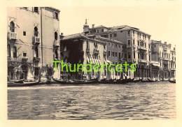 ANCIENNE PHOTO VOYAGE 1954 ITALY VENISE VINTAGE AMATEUR PHOTO FOTO ITALIA VENICE VENEZIA TRIP 1954 11,5 CM X 8 CM - Lieux