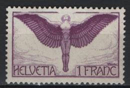Svizzera 1924 Unif. A12a **/MNH VF - Poste Aérienne