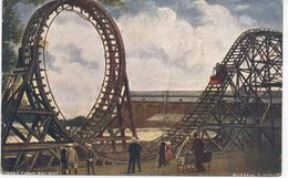 CRYSTAL PALACE FUNFAIR RIDE - ROLLER COASTER - 1906 - Autres