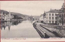 Dinant La Meuse Vers Neffe - Très Belle Carte (En Très Bon Etat) - Dinant
