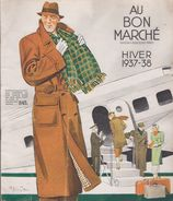 CATALOGUE DU BON MARCHE - HIVER 1937-1938 - Autres Collections