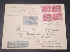 FRANCE -Enveloppe Commerciale En Recommandé De St Raphael Pour Tanannarive En 1934 , Affranchissement Plaisant - L 11076 - Marcophilie (Lettres)