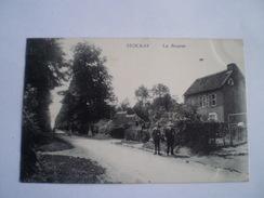 Stockay (Saint Georges Sur Meuse) La Bourse (animee) Used 1922 Tres Rare - Saint-Georges-sur-Meuse