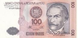 Banknote: Peru 1987 Cien Intis   (DD15-24) - Perú