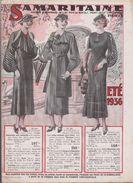 CATALOGUE DE LA SAMARITAINE - ETE 1936 - Autres Collections
