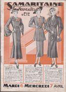 CATALOGUE DE LA SAMARITAINE - ÉTÉ 1937 - Other Collections