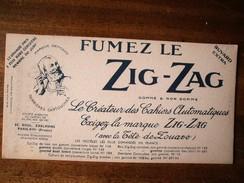 BUVARD ZIG ZAG PARFAIT ETAT - Tobacco