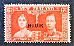 SURCHARGE 1937 - NEUF ** - YT 61 - MI 57 - Niue