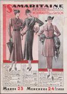 CATALOGUE DE LA SAMARITAINE - ÉTÉ 1937 - Autres Collections