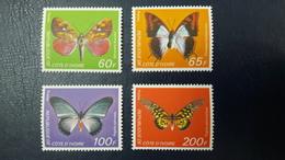 IVORY COAST COTE D'IVOIRE 1978 YT 469/72 469 - 472 PAPILLONS BUTTERFLIES BUTTERFLY PAPILLONS PAPILLON - RARE -  MNH - Schmetterlinge