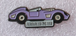 Pin's Ferrari 250 TRS . 1958 - Ferrari