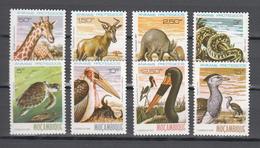 Mozambique 1981,8V In Set,birds,vogels,vögel,oiseaux,pajaros,uccelli,giraffe,snake.slang,turtle,MNH/Postfris(A3520) - Uccelli