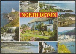 Multiview, North Devon, C.1990s - Salmon Postcard - England