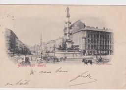 AUTRICHE  1900   CARTE POSTALE DE VIENNE   PRATERSTRASSE - Altri