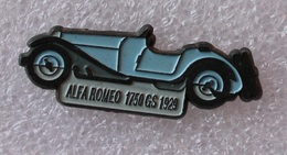 Pin's Alfa  Romeo . 1750 GS . 1929 . 24 Heures Le Mans - Alfa Romeo