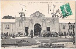 89. Exposition Nationale D'AUXERRE (1908). Bâtiment Principal N° 2. 11 - Auxerre