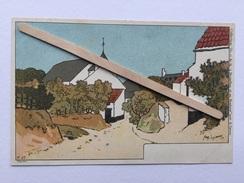 BAISY-THY ROUTE DE VILLERS À GENAPPE Nº 57»Collection De-ci,de-là»à Bruxelles Et En Brabant «Par AMÉDÉE LYNEN (1900). - Genappe