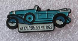 Pin's Alfa  Romeo . 1750 RL . 1922 - Alfa Romeo