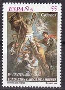 1994, Spanien, 3159, 400 Jahre Carlos-de-Amberes-Stiftung Zugunsten Armer Pilger. MNH ** - 1931-Hoy: 2ª República - ... Juan Carlos I