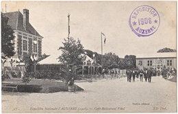 89. Exposition Nationale D'AUXERRE (1908). Café-Restaurant Vidal. 13 - Auxerre