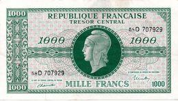 "1000 F ""MARIANNE"" - Type Juin 1945 (Chiffes Maigres) Série D (SPL) - 1943-1945 Marianne"