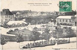 89. Exposition Nationale D'AUXERRE (1908). Vue Générale De L'Exposition. 10 - Auxerre