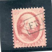 PAYS BAS 1864 O - Gebruikt