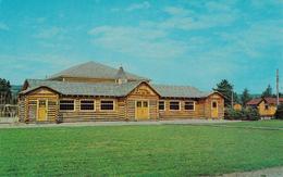 St. Ann's Gaelic College - Cape Breton Nova Scotia - Celtic Folk Art Building - By C.& G. MacLeod Sydney NS - 2 Scans - Cape Breton