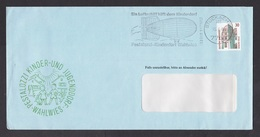 Germany: Advertorial Cover, 1988, 1 Stamp, Cancel Zeppelin, Airship (traces Of Use) - Brieven En Documenten