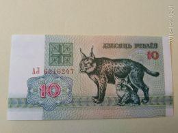 10 Rubli 1992 - Bielorussia