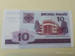 10 Rubli 2000 - Bielorussia
