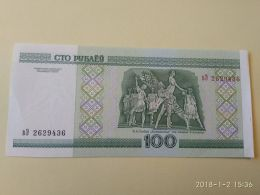 100 Rubli 2000 - Bielorussia