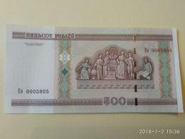 500 Rubli 2000 - Bielorussia