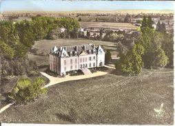 EN AVION AU-DESSUS DE ... SAINT-MARCELLIN-EN-FOREZ (42) Le Château Mazenod (Ed : LAPIE)  CPSM  GF - Autres Communes