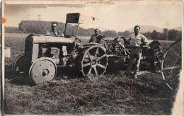 ¤¤  -  AGRICULTURE  -  Carte-Photo  -  Tracteur , Agriculteurs   -  ¤¤ - Tracteurs