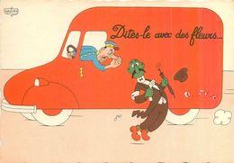 DUBOUT - Dites-le Avec Des Fleurs Accident De Circulation Parapluie Chapeau N° 24 A En TB.Etat - Dubout