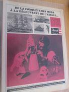 Pour  Collectionneurs  PUBLICITE Années 60/70 : MAQUETTES PLASTIQUE MARQUE REVELL Format Page A4 - Space