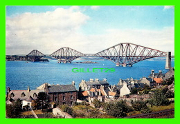 FIRTH OF FORTH, SCOTLAND - THE FORTH BRIDGE - J ARTHUR DIXON No 3538 - 1956 - - Fife