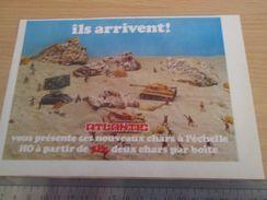 Pour  Collectionneurs  PUBLICITE Années 60/70 : FIGURINES ATLANTIC Bataille Du Désert ; Format 1/2 Page A4 - Army