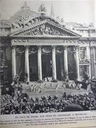 Un Gala De Danse , Aux Fétes Du Centenaire , Place De La Bourse A Bruxelles 1931 - Documents Historiques