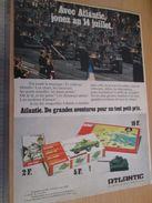 Pour  Collectionneurs  PUBLICITE Années 60/70 : FIGURINES ATLANTIC SOLDATS DEFILE 14 JUILLET ;  Format Page A4 - Army
