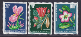 MALI N°   57 à 59 ** MNH Neufs Sans Charnière, TB (D3870) Fleurs - Mali (1959-...)