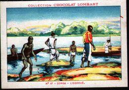 CHOCOLAT LOMBART, N°67, CONGO, L'OGOOUE - Lombart