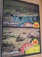 Pour  Collectionneurs  PUBLICITE Années 60/70 : FIGURINES ATLANTIC MARINE DE GUERRE ET ARTILLERIE ;  Format Page A4 - Army
