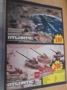 Pour  Collectionneurs  PUBLICITE Années 60/70 : FIGURINES ATLANTIC DEBARQUEMENT ET CHARS ;  Format Page A4 - Army