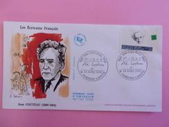 FRANCE FDC 1993 YVERT 2801 JEAN COCTEAU - 1990-1999