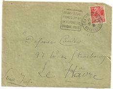MAINE Et LOIRE - Dépt N° 49 = BEAUPREAU 1931  = FLAMME ENTIERE = DAGUIN 'FOIRES / VENDREDIS ' - Marcophilie (Lettres)