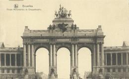 Brussel Bruxelles Brussels - Arcade Monumentale Du Cinquantenaire - Nels Série 1 N° 74 - Monuments, édifices